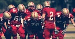 motivatie football huddle s