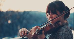virtuoos communiceren viool