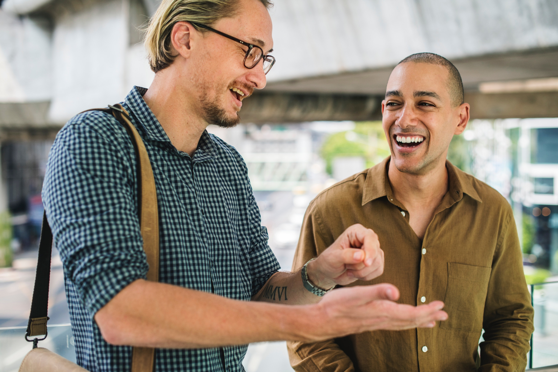 Collega-vriendelijkheid klantvriendelijkheid
